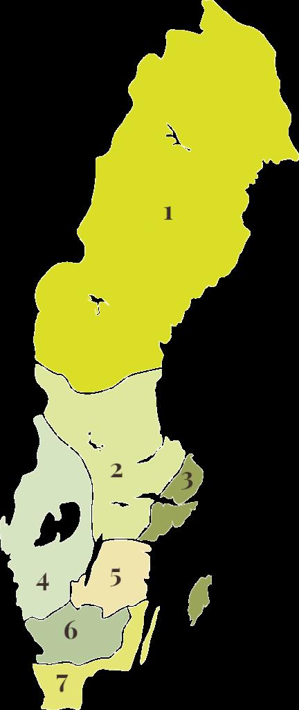 Säljpartner Karta
